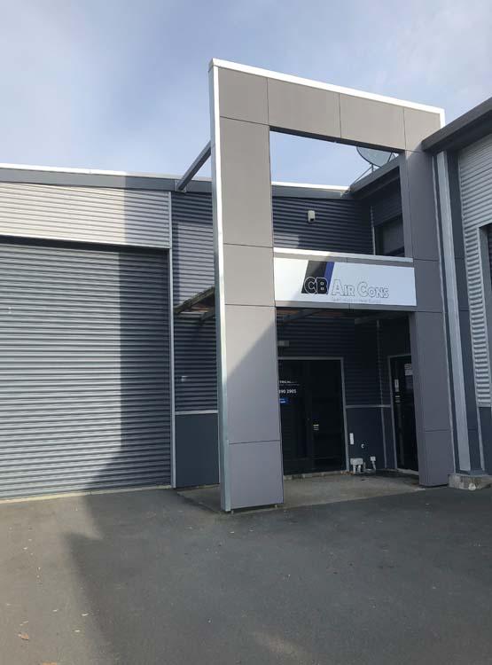 cb aircon premises